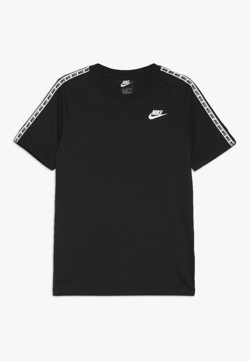 Nike Sportswear - REPEAT TEE - T-shirt imprimé - black/white