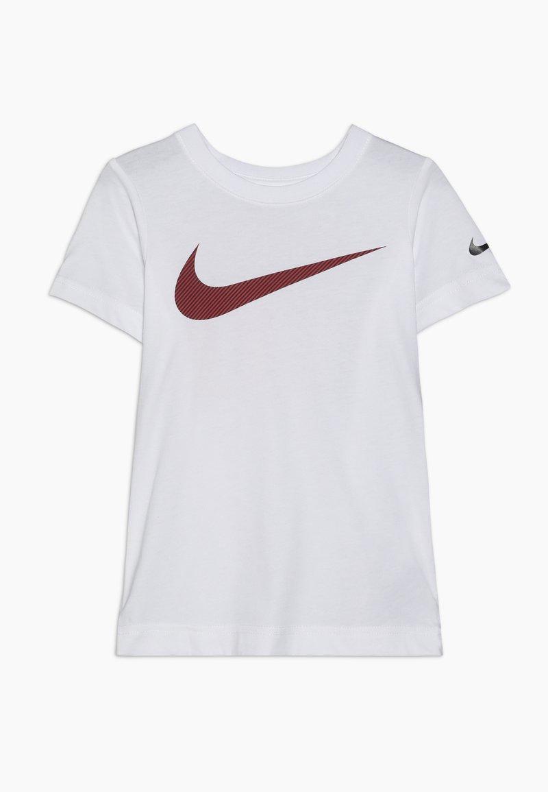 Nike Sportswear - OVERSIZED JUST DO IT AS IF TEE - T-shirts print - white