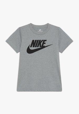 FUTURA TEE - Camiseta estampada - dark grey heather