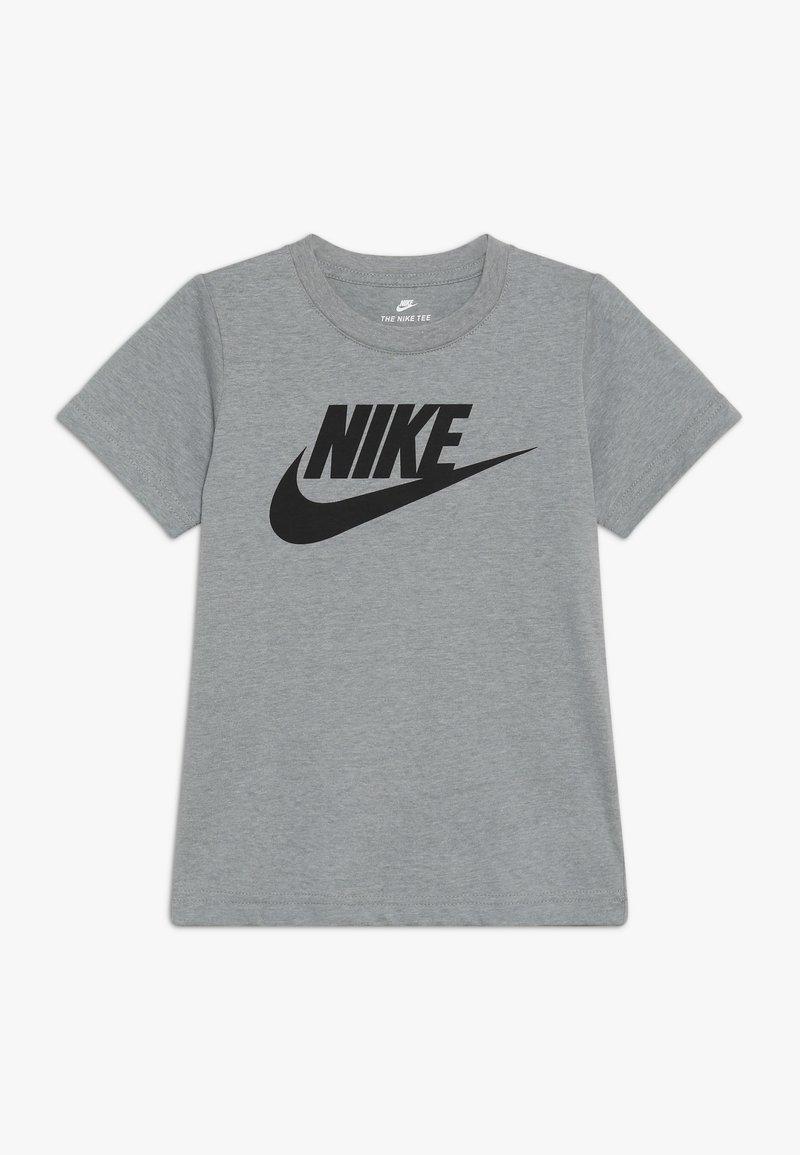 Nike Sportswear - FUTURA TEE - Print T-shirt - dark grey heather