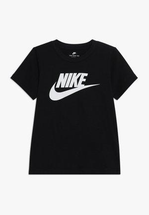 FUTURA TEE - T-shirt z nadrukiem - black