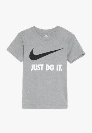 TEE - Print T-shirt - dark grey heather/white