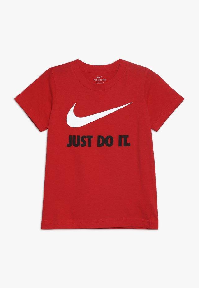 TEE - T-shirt med print - university red