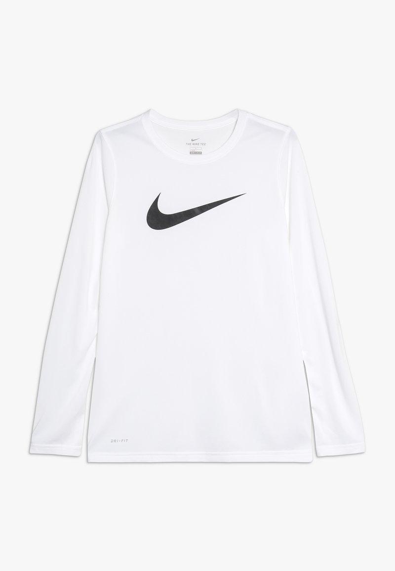 Nike Sportswear - DRY TEE SOLID - Maglietta a manica lunga - white/black