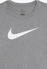 Nike Sportswear - DRY TEE SOLID - Long sleeved top - dark grey heather - 3
