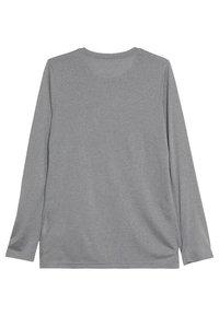 Nike Sportswear - DRY TEE SOLID - Long sleeved top - dark grey heather - 1