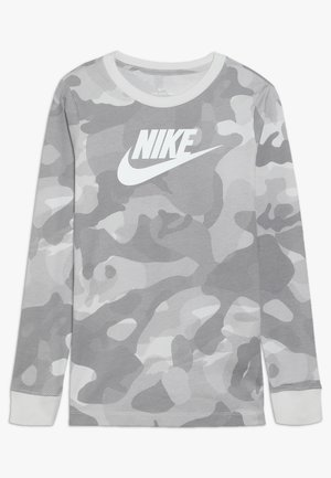 CAMO - Long sleeved top - platinum tint/vast grey