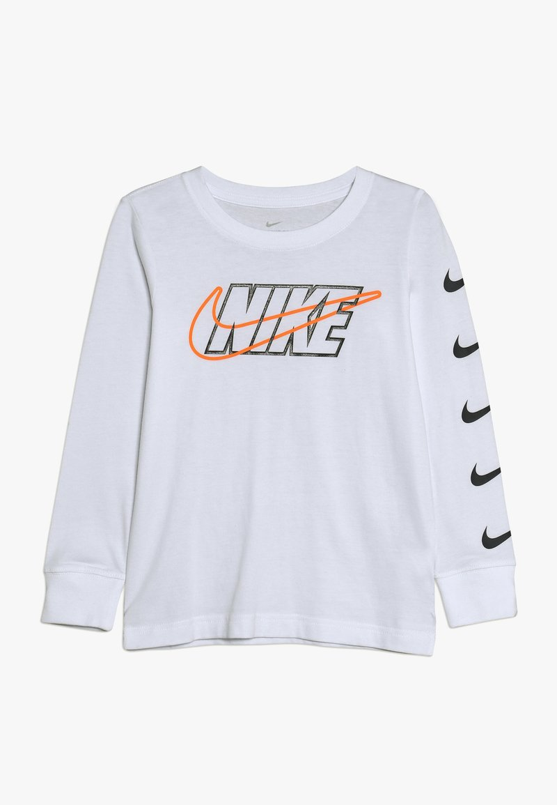 Nike Sportswear - OUTLINED BLOCK TEE - T-shirt à manches longues - white