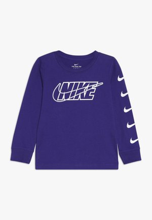 OUTLINED BLOCK TEE - Maglietta a manica lunga - court purple