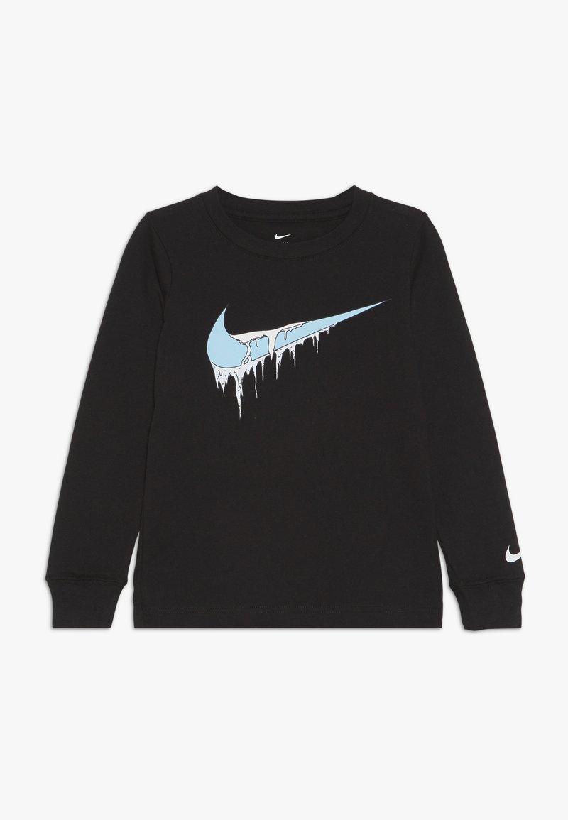 Nike Sportswear - FROZEN TEE - Langarmshirt - black