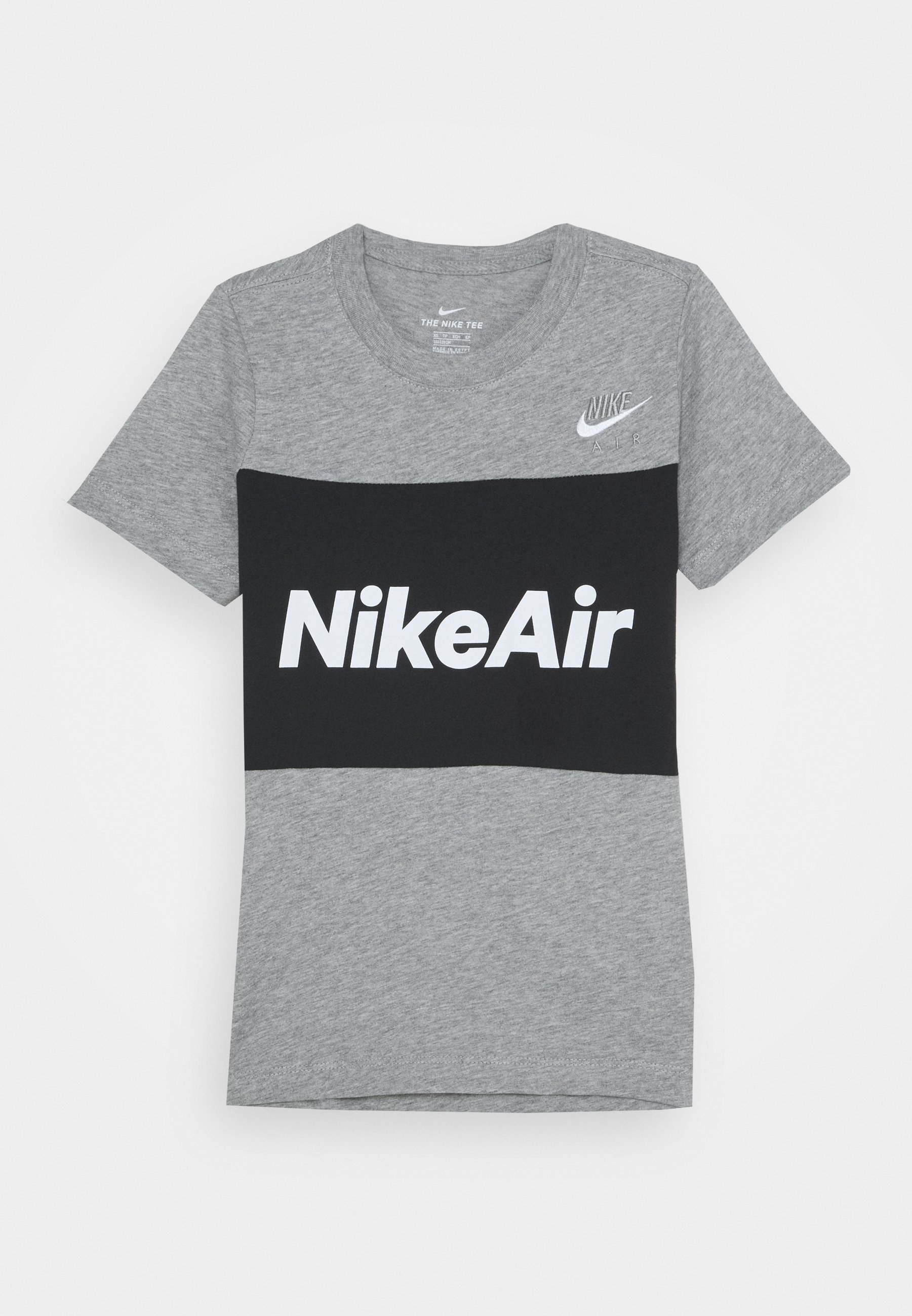 AIR TEE T shirt imprimé grey heatherblack