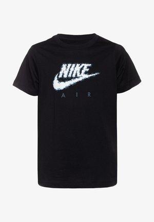 AIR CLOUDS - T-shirt imprimé - black