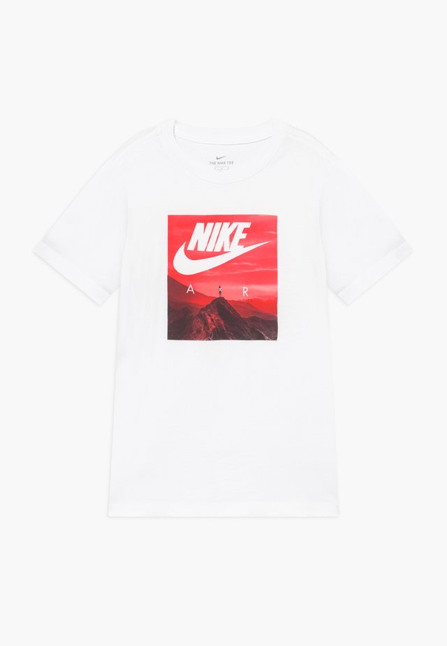 PHOTO - Print T-shirt - white