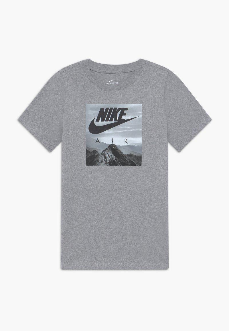 Nike Sportswear - PHOTO - T-shirt imprimé - grey heather