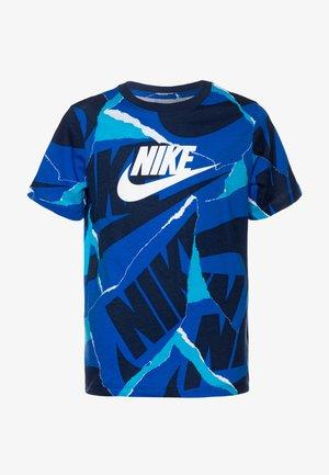 BRAND MARK - T-shirt print - game royal/midnight navy/laser blue