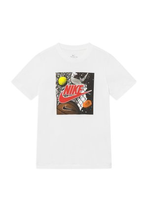 PLAYGROUND FUTURA - T-shirt print - white