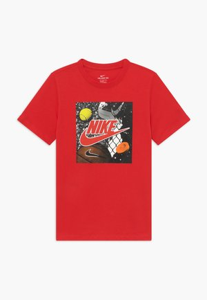 PLAYGROUND FUTURA - T-shirt imprimé - university red