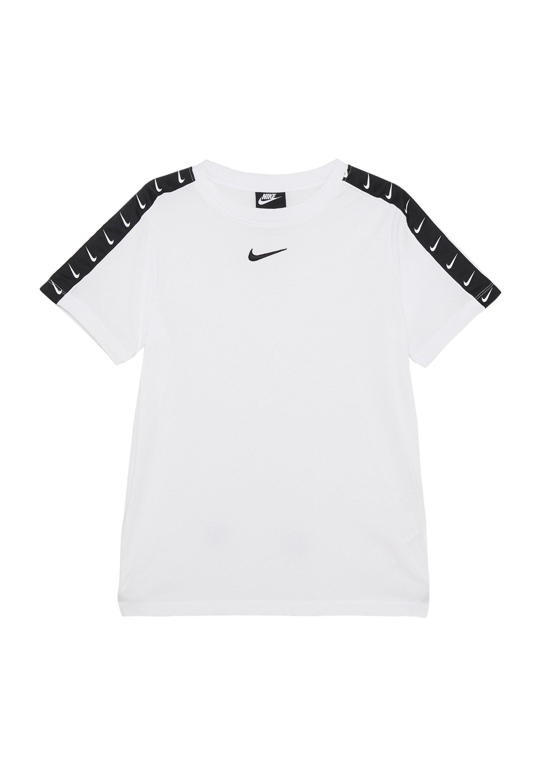 TEE TAPE T shirt imprimé white