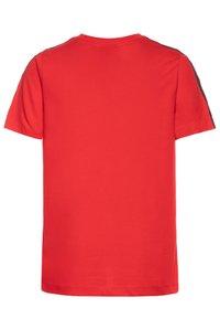 Nike Sportswear - TEE TAPE - Camiseta estampada - university red/white - 1