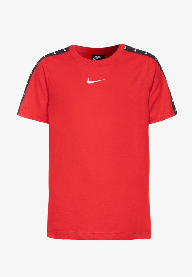 Nike Sportswear - TEE TAPE - Camiseta estampada - university red/white