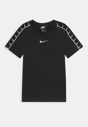 TEE TAPE - Print T-shirt - black/white