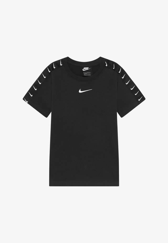 TEE TAPE - T-shirt med print - black/white
