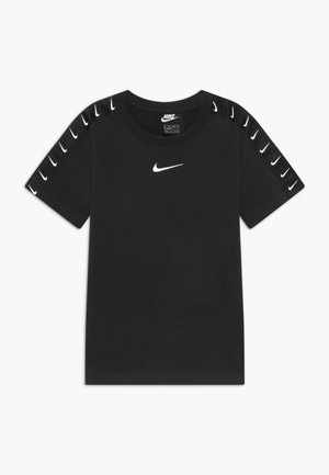 TEE TAPE - T-shirt con stampa - black/white