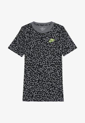 TEE MEZZO - Camiseta estampada - smoke grey/black