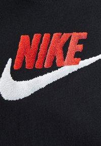 Nike Sportswear - TEE FAUX EMBROIDERY - Print T-shirt - black - 3