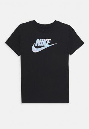 TEE FUTURA IRIDESCENT - T-shirt imprimé - black