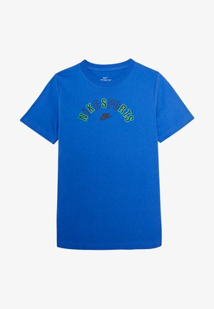 TEE GET OUTSIDE - Camiseta estampada - pacific blue