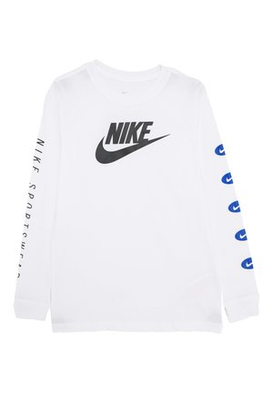 TEE FUTURA - Long sleeved top - white