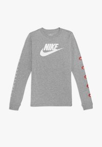Nike Sportswear - TEE FUTURA - Longsleeve - grey heather - 0