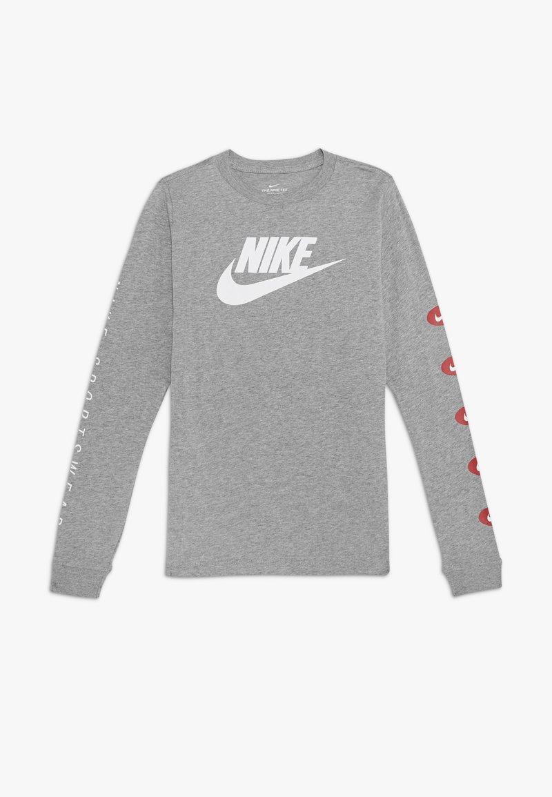 Nike Sportswear - TEE FUTURA - Longsleeve - grey heather