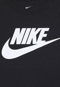 Nike Sportswear - TEE FUTURA - Pitkähihainen paita - black - 2