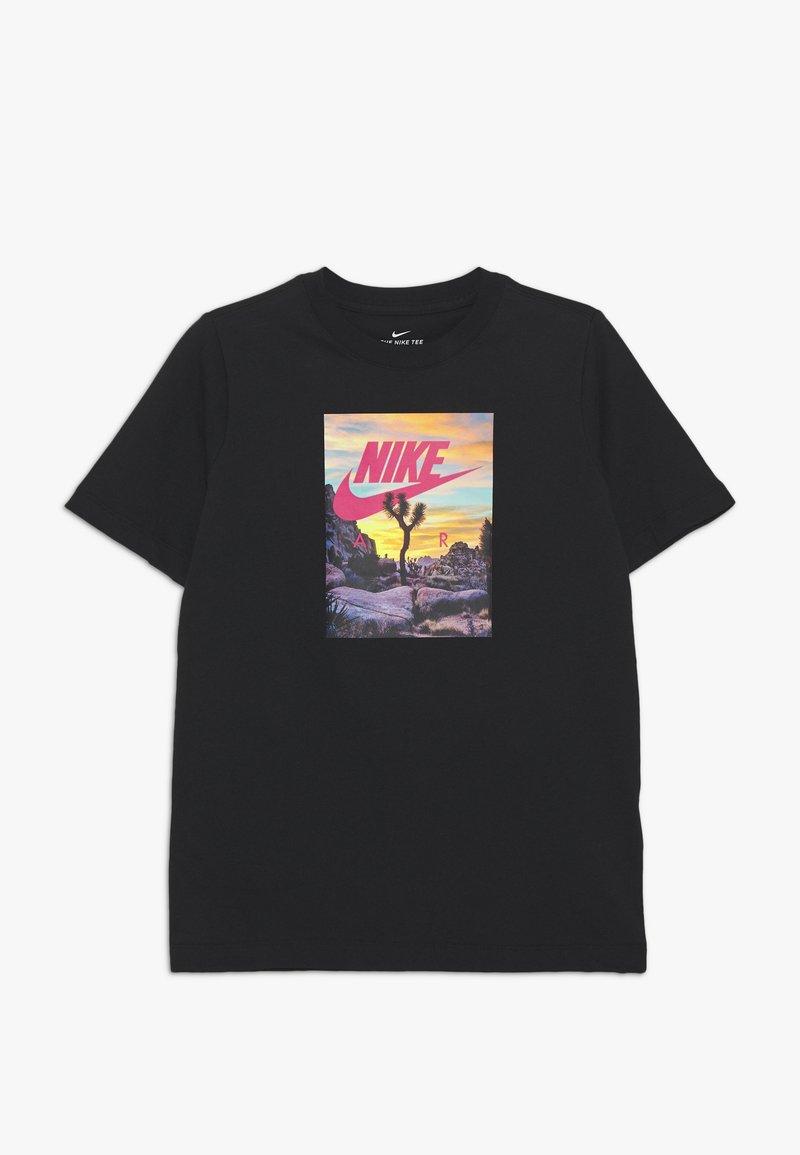 Nike Sportswear - T-shirt z nadrukiem - black