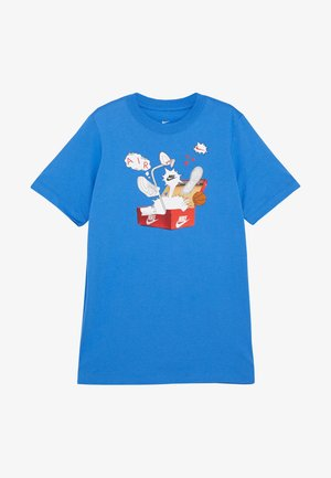 TEE SHOEBOX - T-shirt print - pacific blue