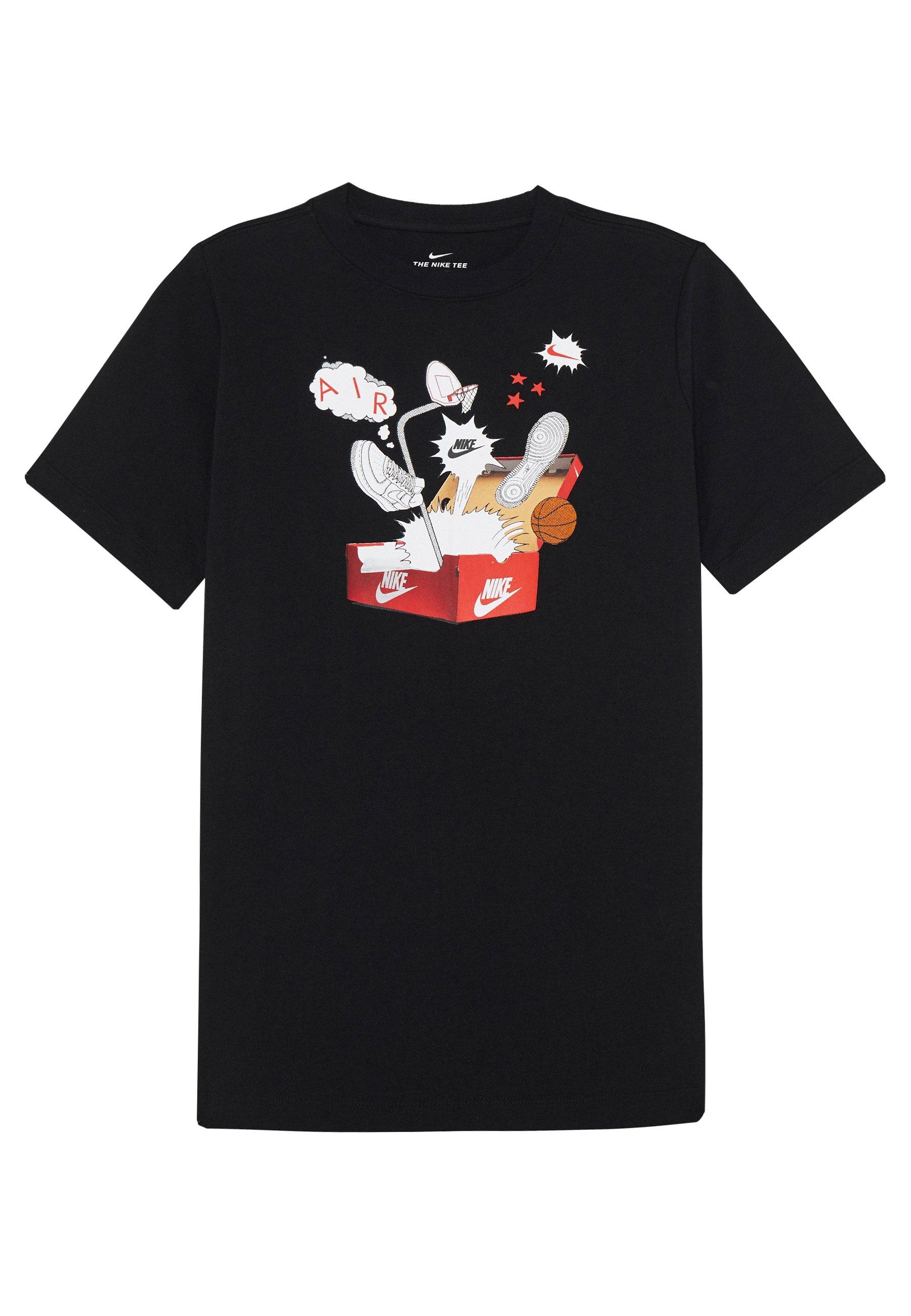 Nike Performance SHOEBOX TEE T shirt imprimé white