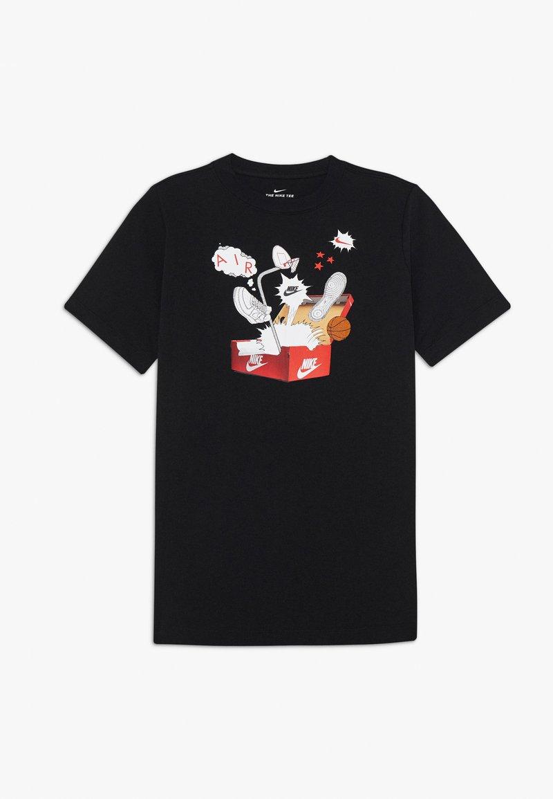 Nike Sportswear - TEE SHOEBOX - Print T-shirt - black