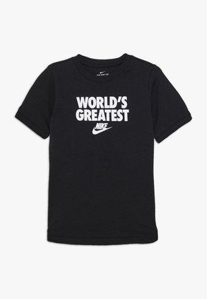 TEE WORLDS GREATEST - T-shirt imprimé - black