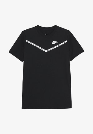 TEE CHEVRON - T-shirt imprimé - black