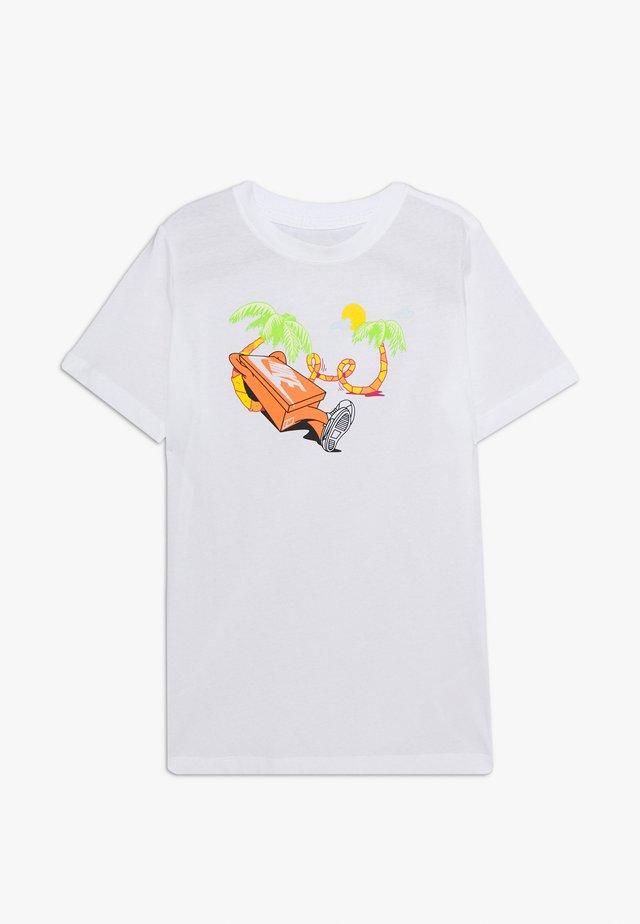 TEE ERMSY BEACH - T-Shirt print - white
