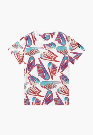 HIFI FUTURA TEE - T-shirt imprimé - white