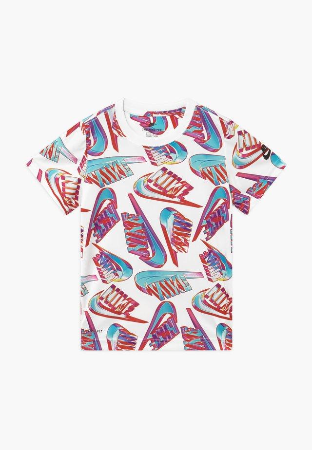 HIFI FUTURA TEE - T-shirt med print - white