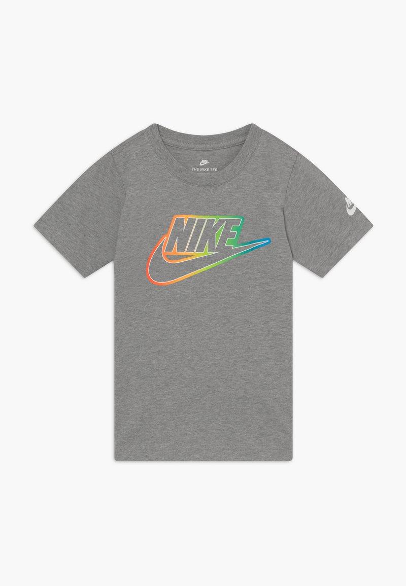 Nike Sportswear - FUTURA BLEND TEE - Print T-shirt - grey heather