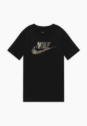 TEE FUTURA CAMO - T-shirt z nadrukiem - black