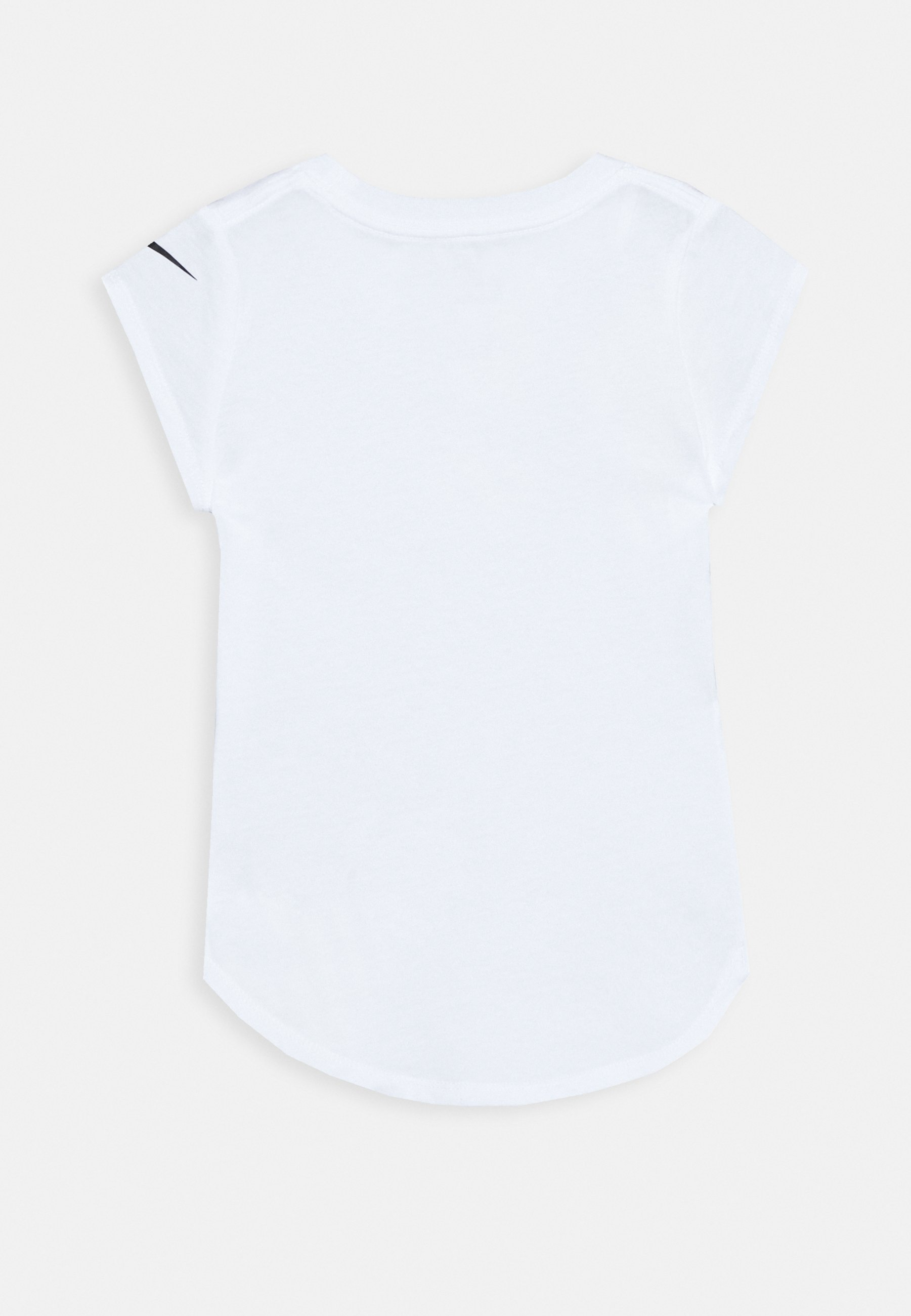 TOSS SCOOP TEE T shirt z nadrukiem white