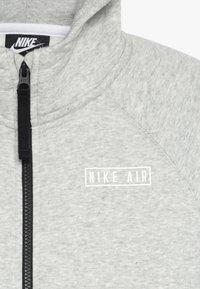 Nike Sportswear - AIR  - Hoodie met rits - dark grey heather/black - 4