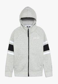 Nike Sportswear - AIR  - Hoodie met rits - dark grey heather/black - 0