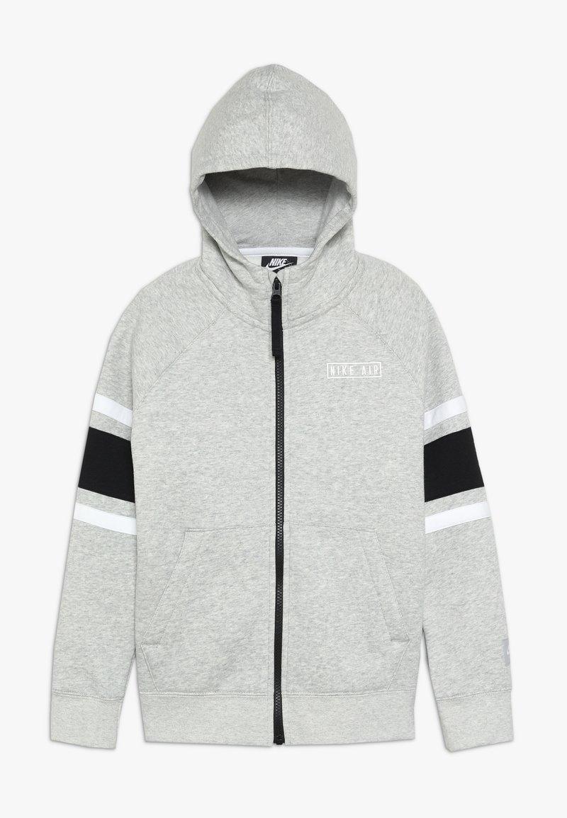 Nike Sportswear - AIR  - Hoodie met rits - dark grey heather/black